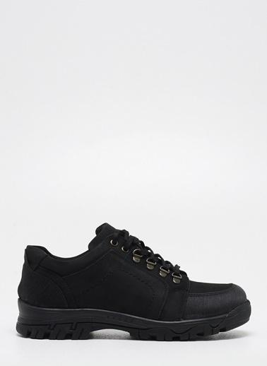 F By Fabrika Erkek Siyah Ayakkabı JOLAS Siyah